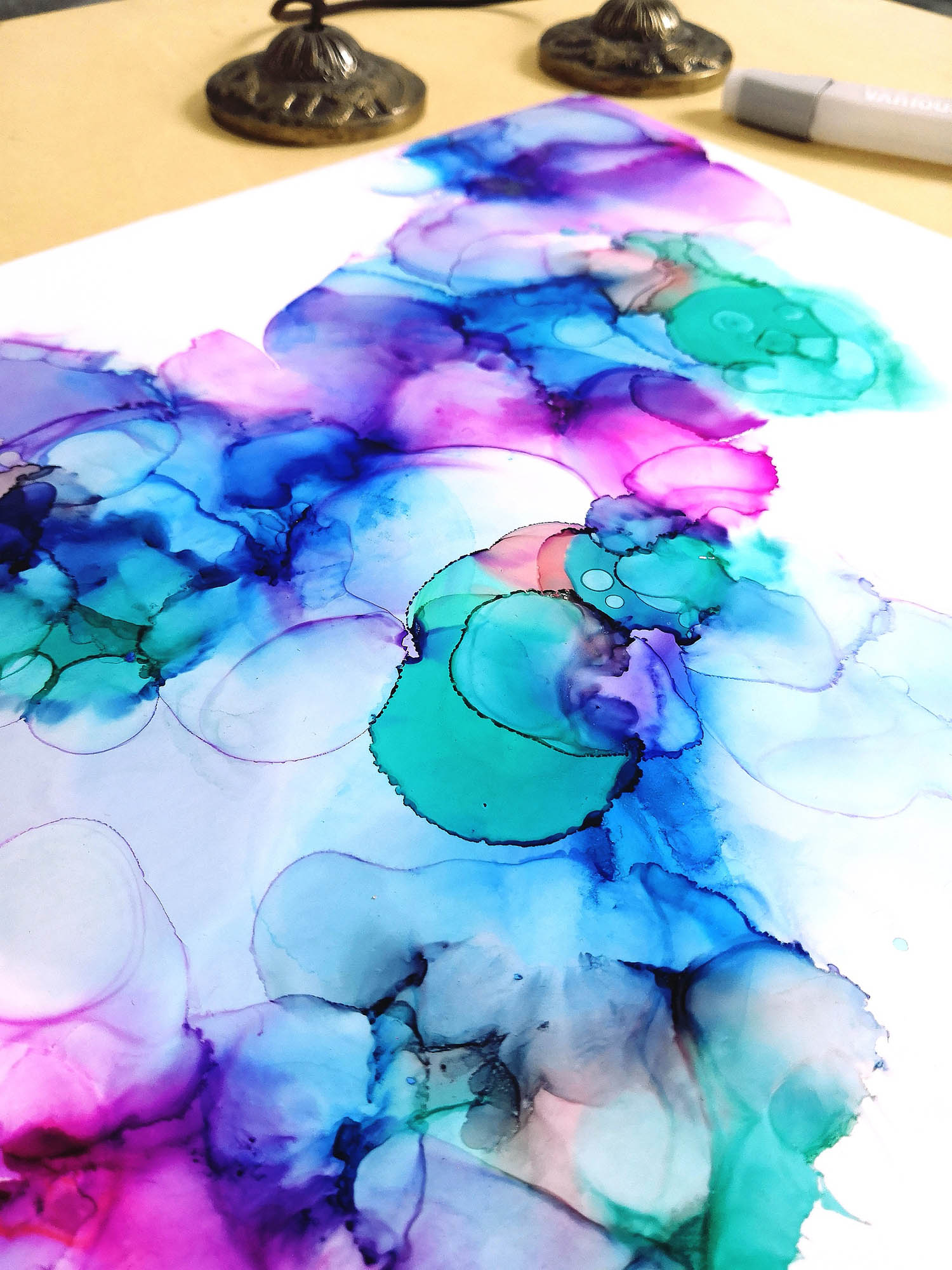 Fluid Art Wonder 001
